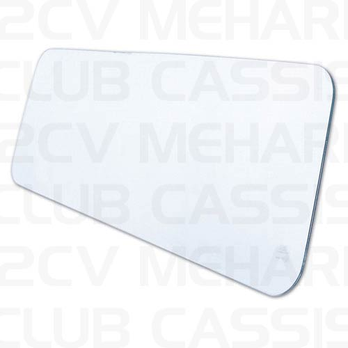 Glass front screen (triplex, CE norm) 2CV