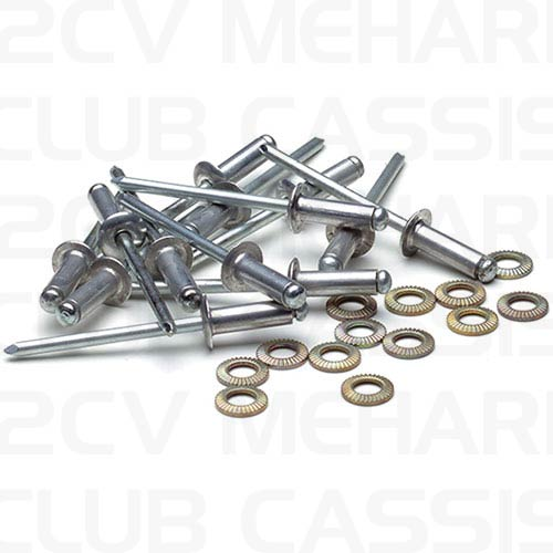 Rivets and washers MEHARI