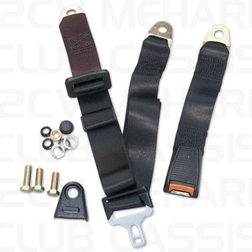 Safety belt 3 points imitation fixed 2CV/AMI/DYANE