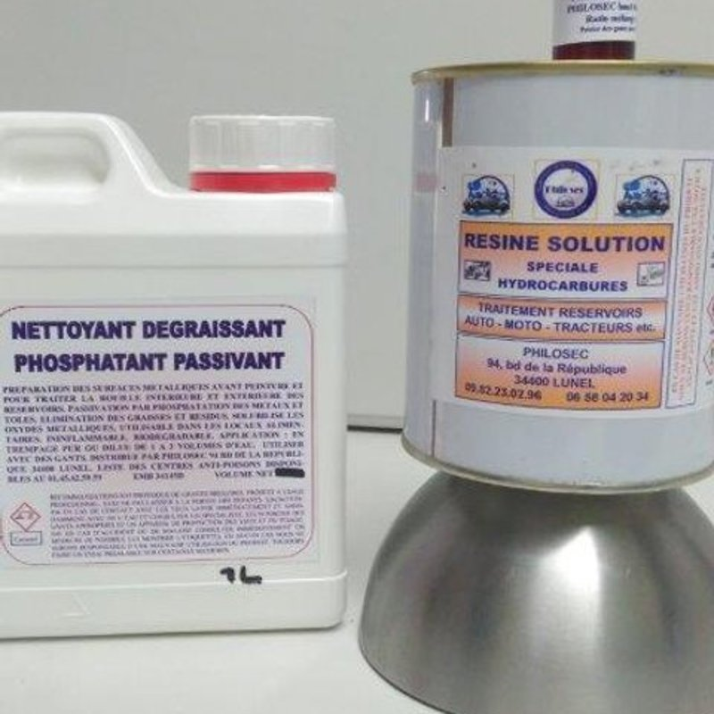 40/50 liter resin with phosphating agent