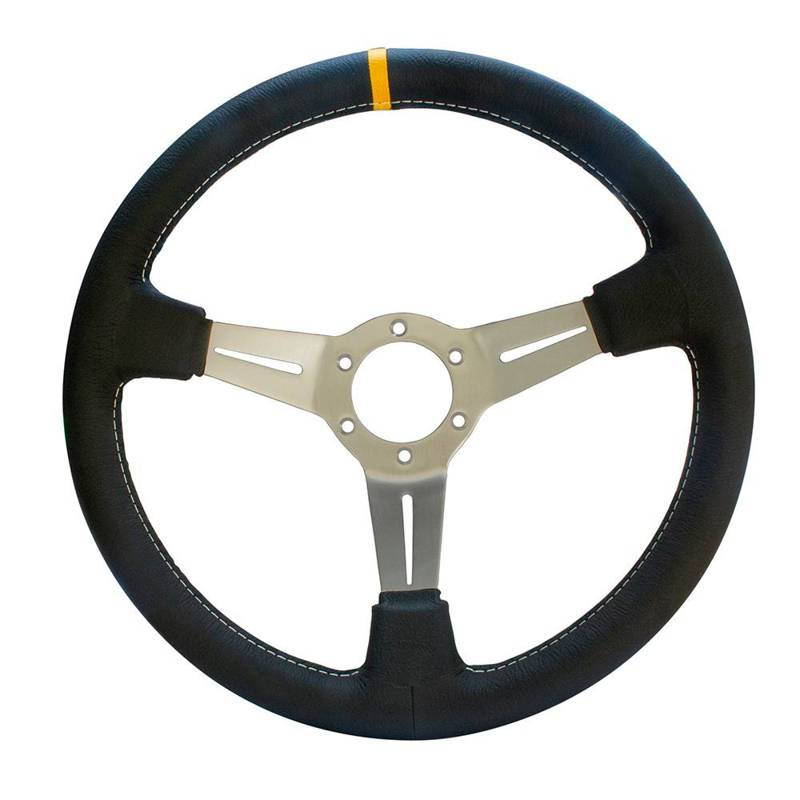 Leather sport steering wheel 2CV