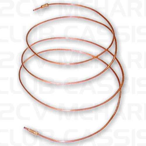 Rear brake line 2/3 part to front 09 2CV/AMI/DYANE/MEHARI