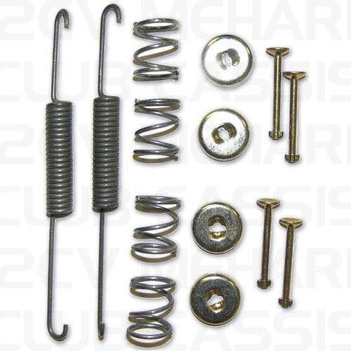 Front brake shoe big spring set 2CV / AMI / DYANE / MEHARI