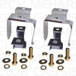 Mounting set back silencer MEHARI