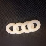 Nylon ring for wheel cover bolt 4pcs