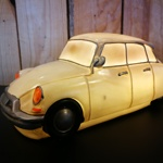 Table lamp Citroën DS white