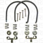 Rear brake shoe spring set 2CV / AMI / DYANE / MEHARI
